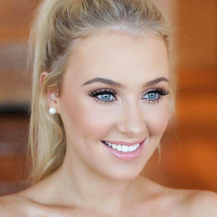 makeup for wedding day how to look effortlessly pretty on your wedding day 5664